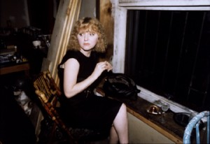 Nan Goldin, Lynelle in Japanese restaurant, N.Y.C., 1988